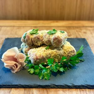 Involtini di scottona prosciutto e formaggio Salice group