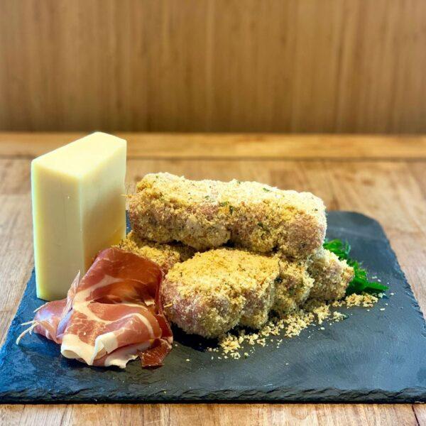 involtini-prosciutto crudo-formaggio svizzero- Salice Group