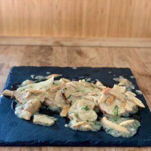 Scaloppine-lonza-funghi-gastronomia-Salice Group